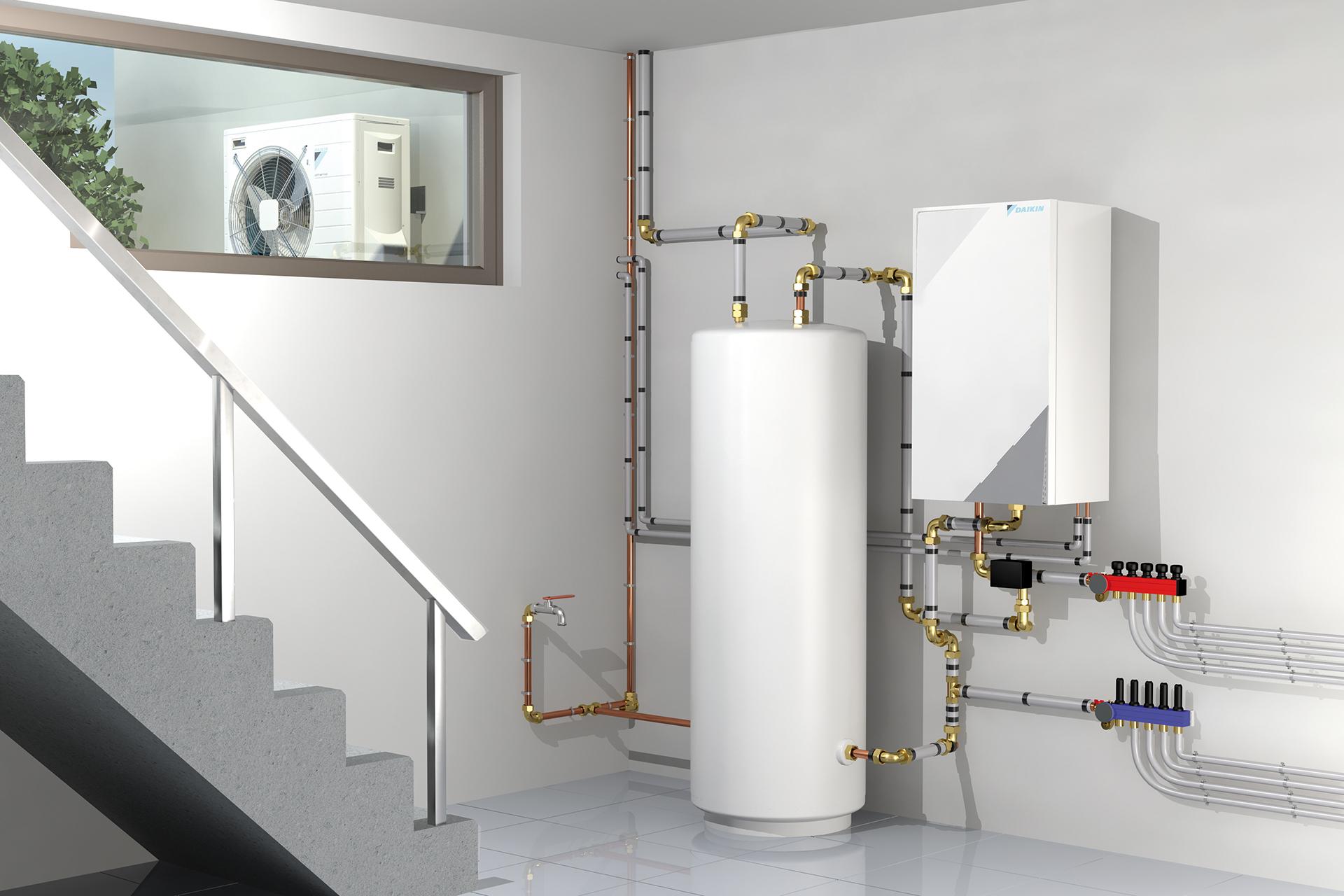 Wärmepumpen - Luft-Wasser-Wärmepumpe