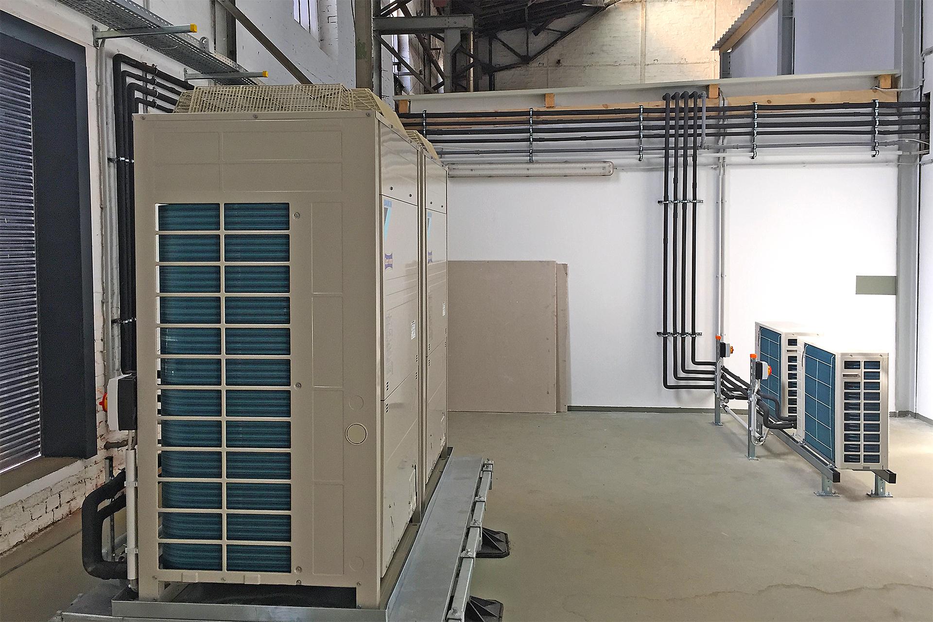 Klimatechnik - Klima-Installation Industrie
