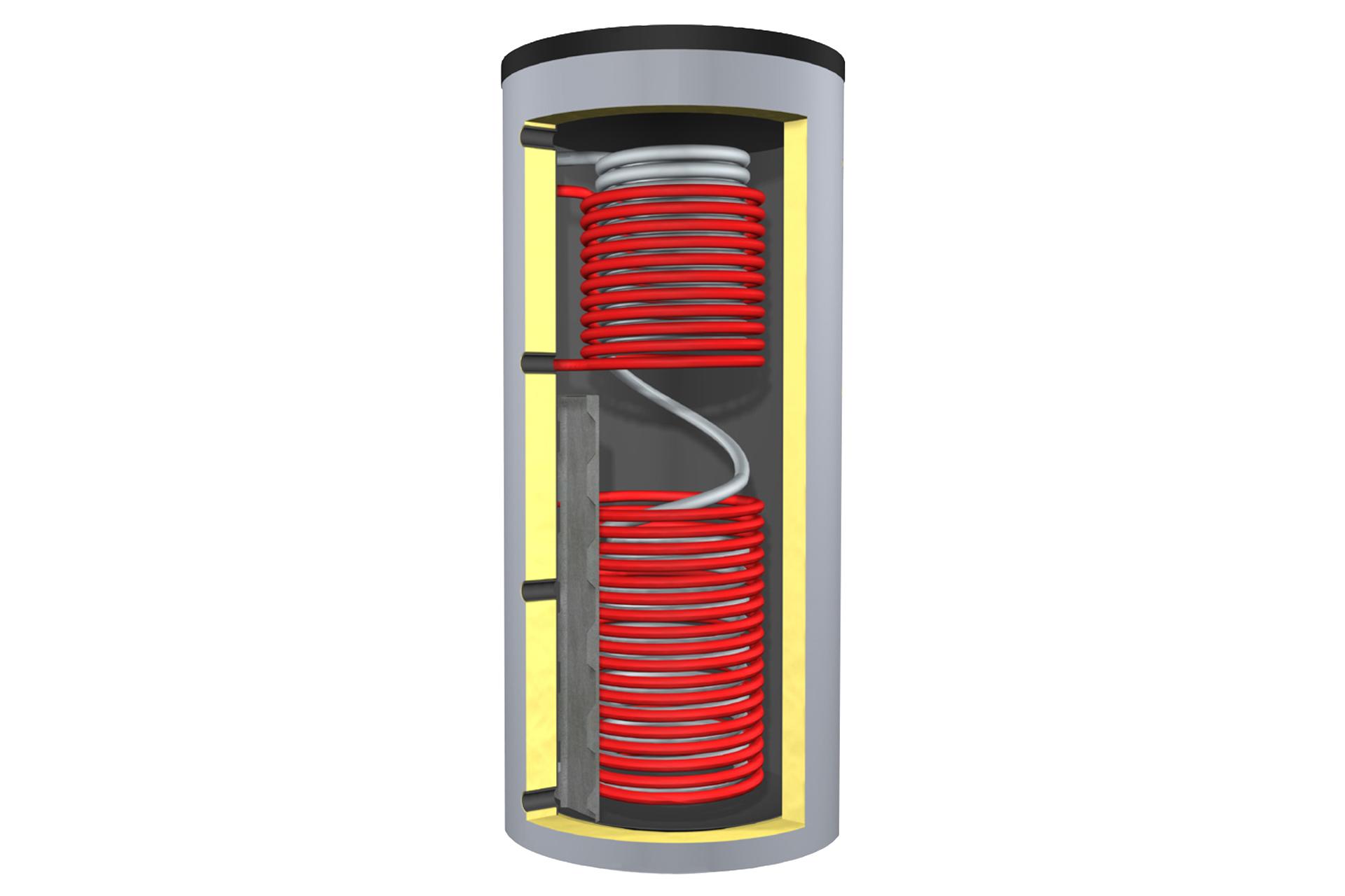 Scheitholzanlagen - Solarschichtspeicher